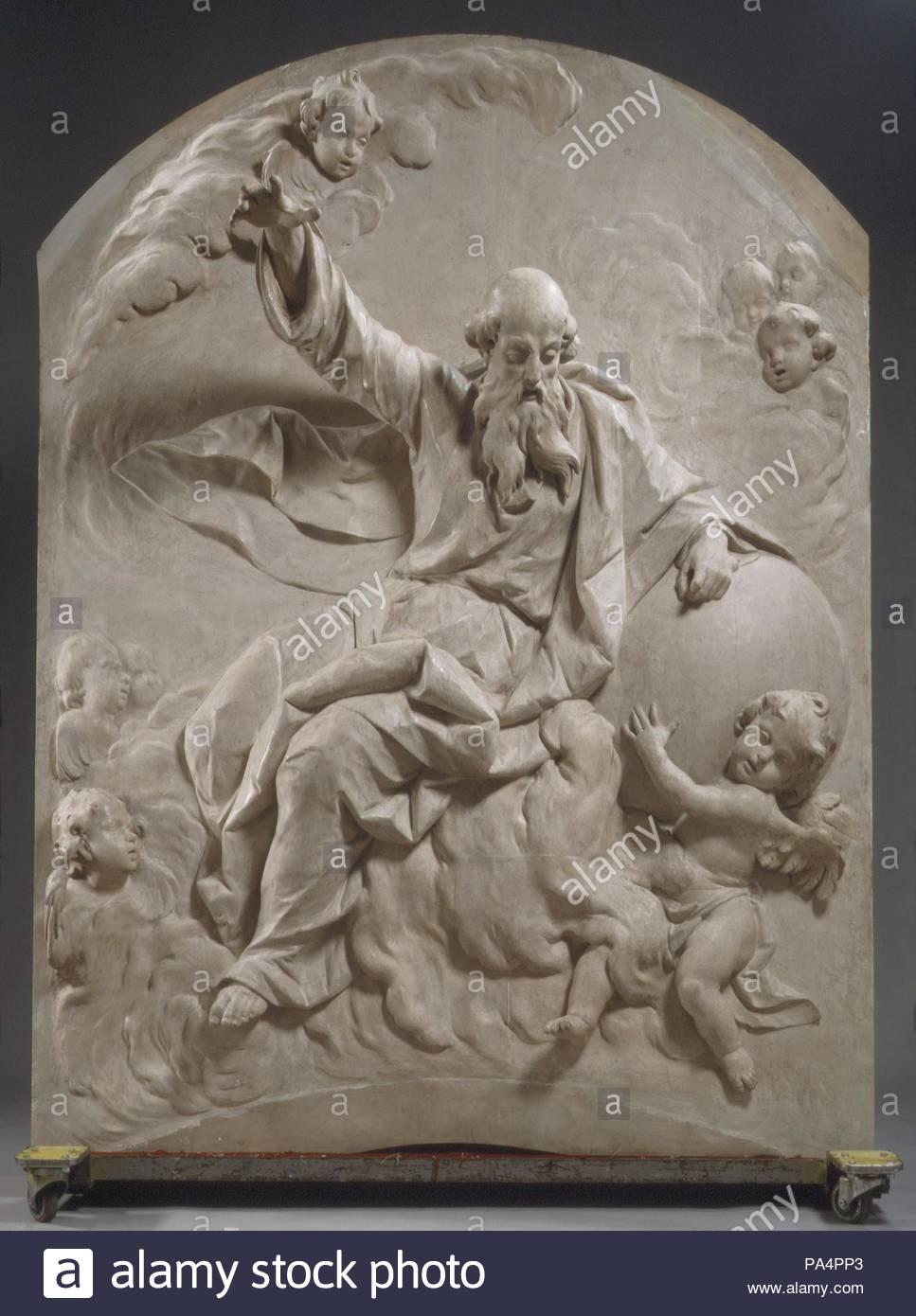 Gott Der Vater Ca 1770 80 Süddeutschland Bayern Kiefer Weiß
