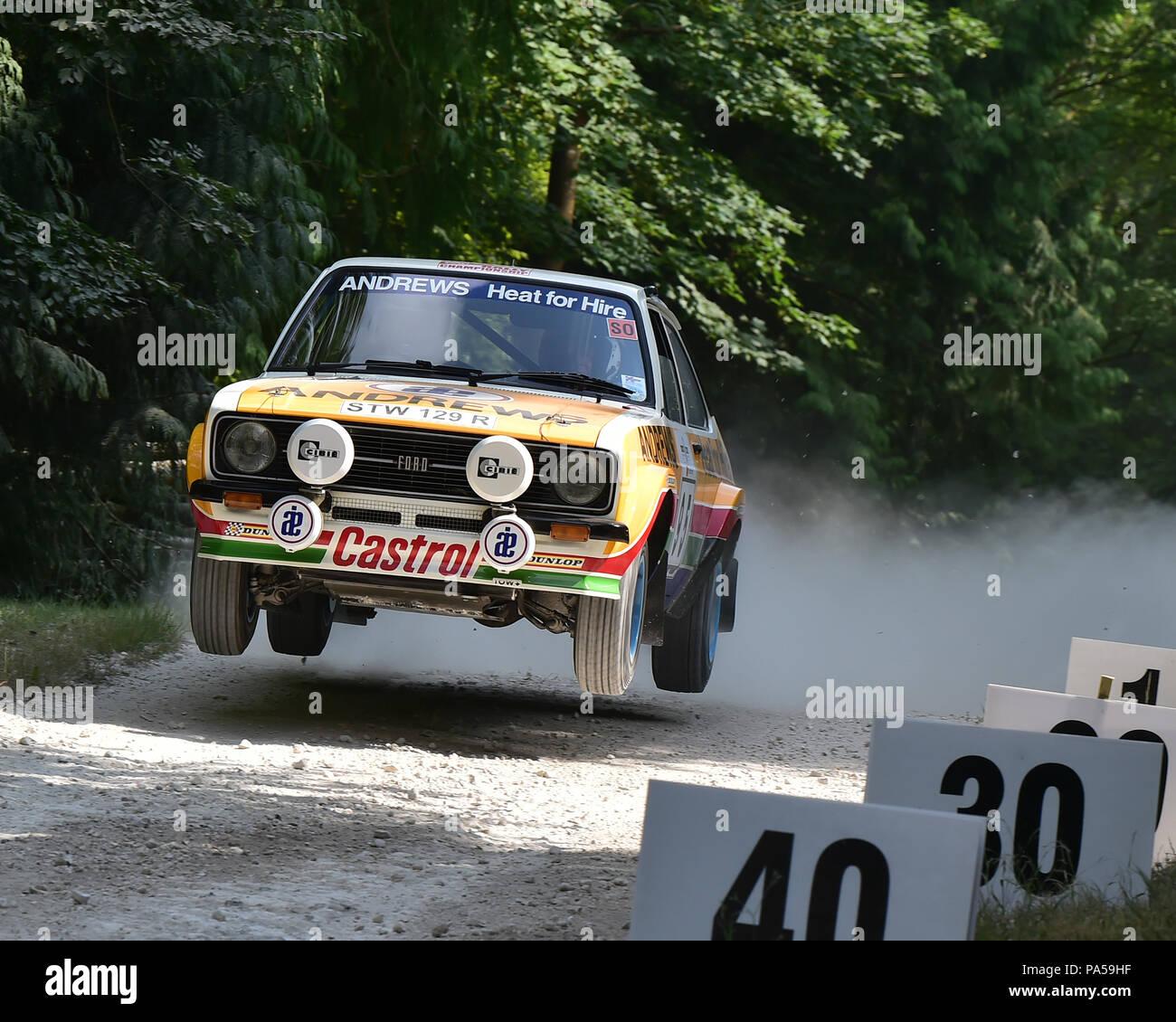 david brown ford escort mk2 rs 1800 forest rally stage festival der geschwindigkeit