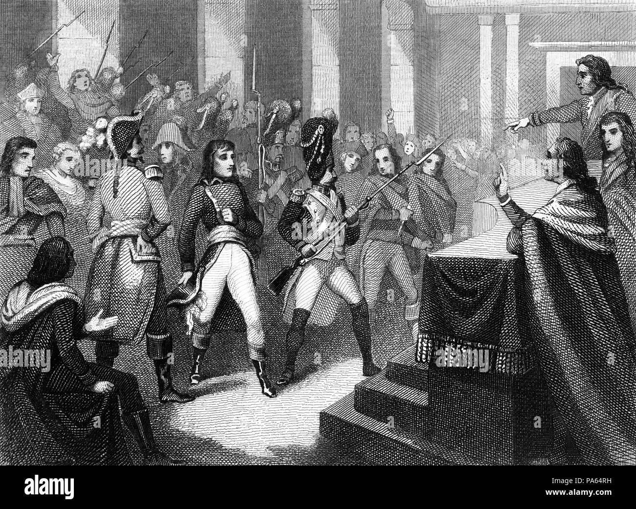Francia Siglo Xviii Golpe De Estado Del 18 Brumario De Del Año Vii Napoleón Bonaparte 1769