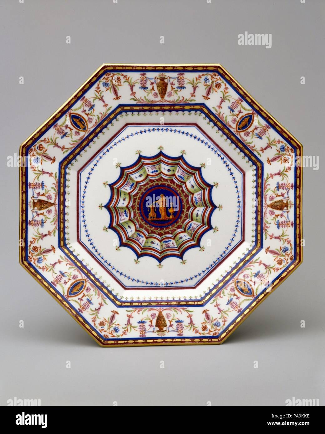 Kultur: Französisch, Sèvres. Dekorateur: Jean Armand Fallot (Französisch,  Aktive 1764 90). Designer: Louis Le Masson (Französisch, 1743 1829).