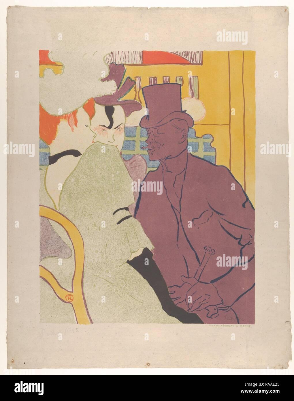 Henri Marie Raymond De Toulouse Lautrec Monfa Stockfotos ...
