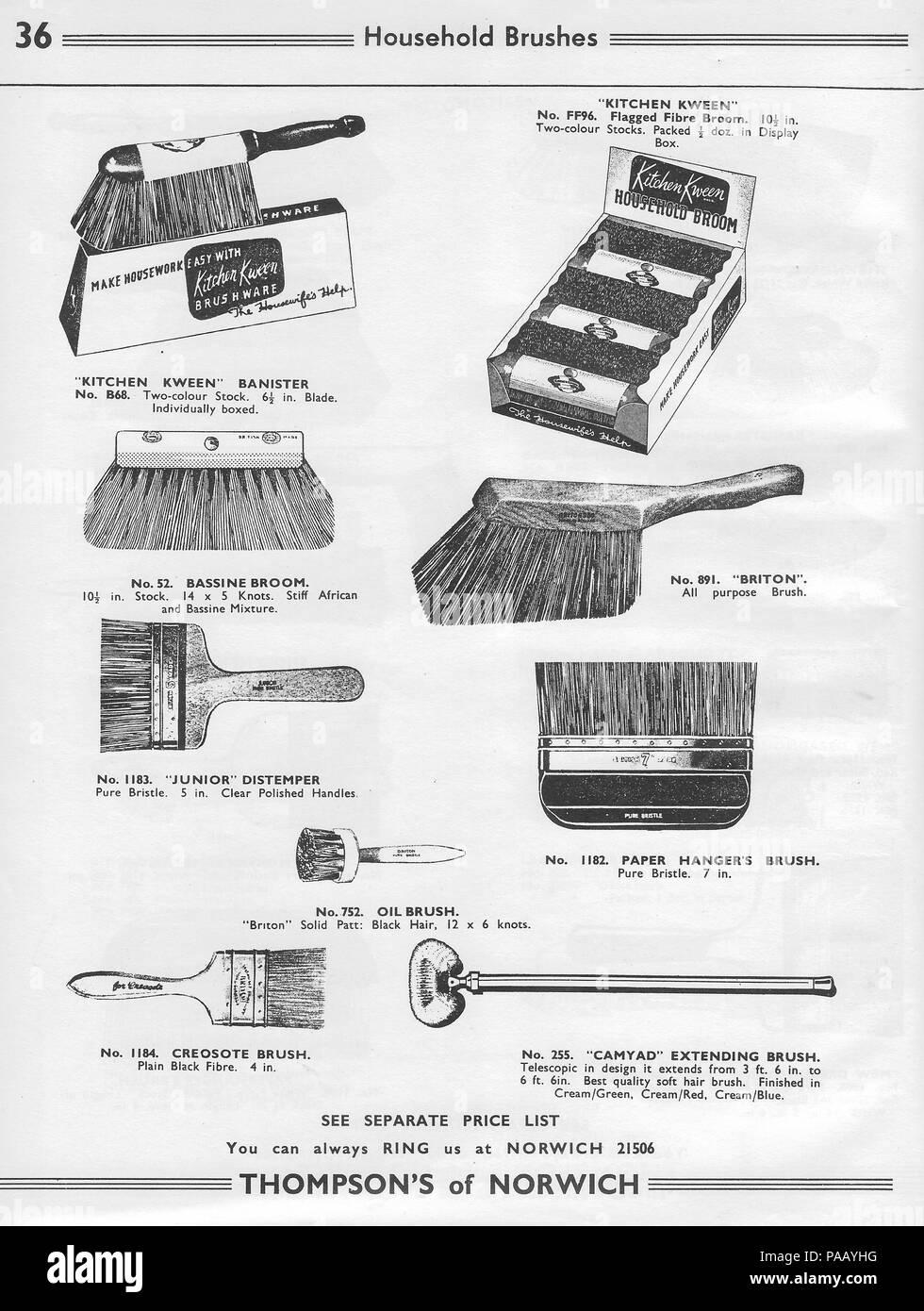 9cebbb9ef1acbe Allgemeine Großhandel Katalog hardware Faktoren H. Thompson & Sons Ltd,  Chalk Hill arbeitet, Norwich, England, ...