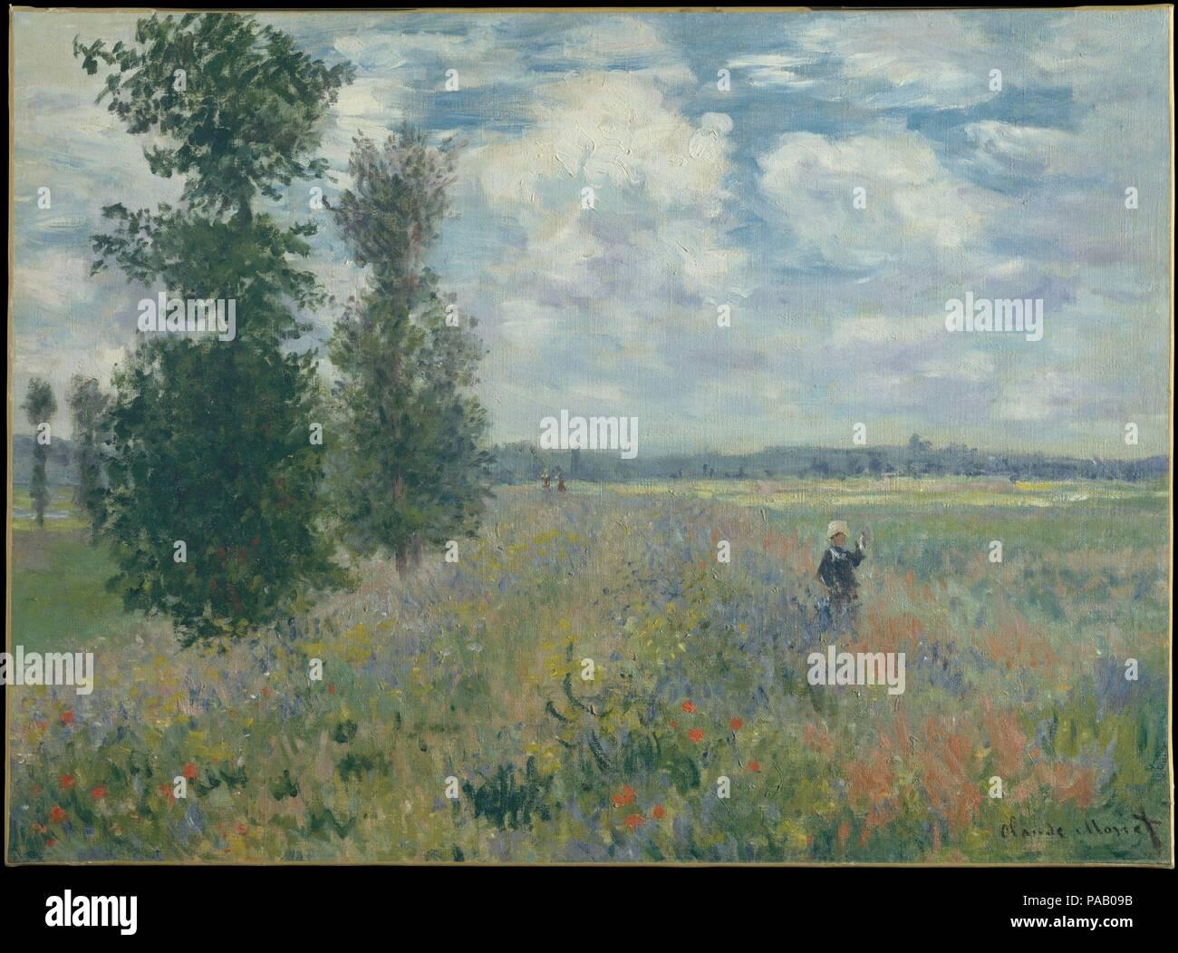 Claude Monet Mohnfelder In Der Nahe Von Argenteuil 1875 Stockfotos Und Bilder Kaufen Alamy