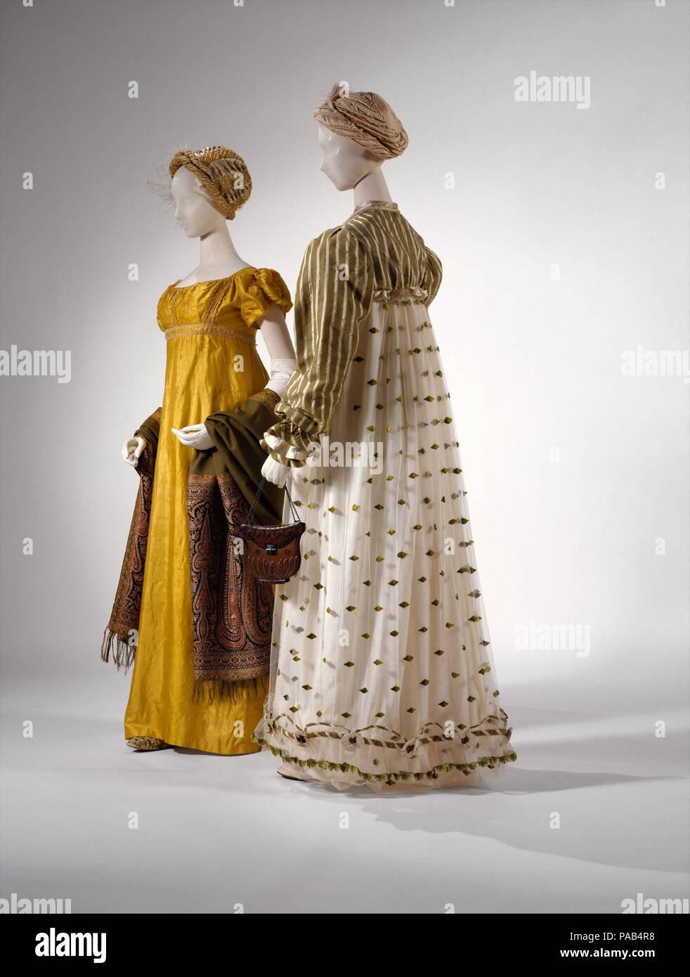 Kleid. Kultur  Britische. Datum  1814. In den frühen Jahren der nineteeth dd468eb94a