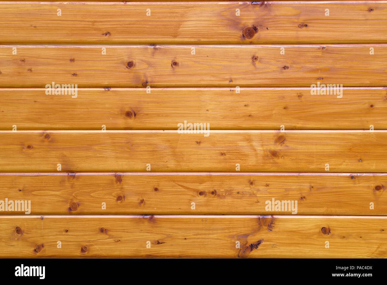 Hintergrund Holz Bretter Verglaste In Einem Teak Farben Stockfoto