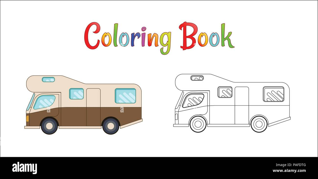 Car Camping Illustration Stockfotos & Car Camping Illustration ...