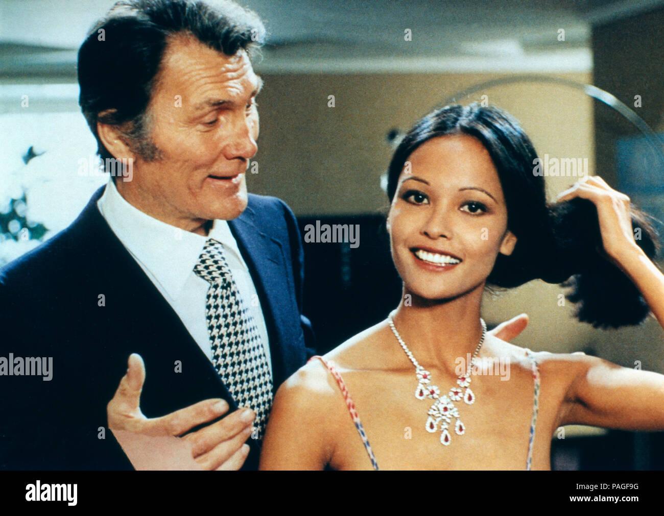 Eva Nera, alias: Nackte Eva, Italien 1976, Regie: Joe D'Amato, Darsteller: Jack Palance, Laura Gemser Stockbild