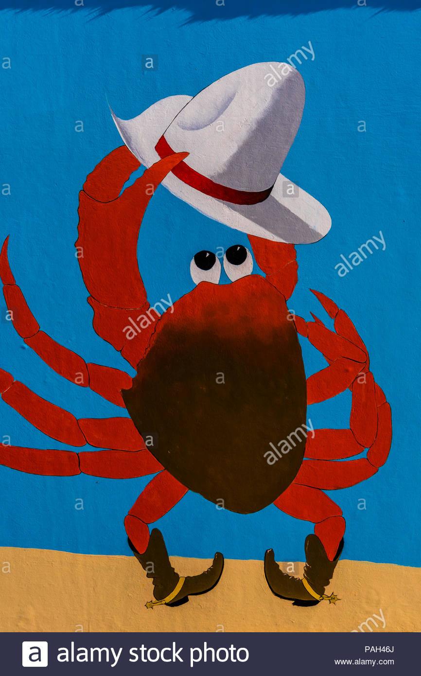 Joe Crab shack großen Haken auf
