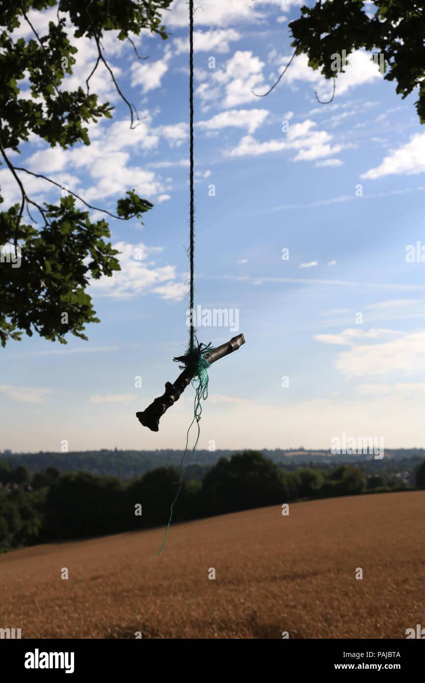 Rope Stick Tree Stockfotos Rope Stick Tree Bilder Alamy