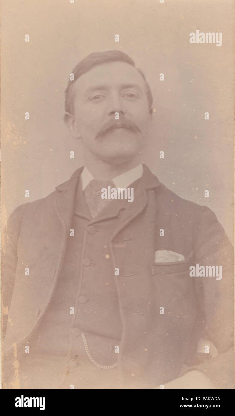 1892 CDV Carte De Visite Von Einem Mann Namens Frank Newcombe