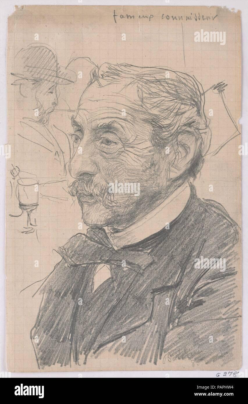 Genremalerei berühmt  Berühmten Kenner (Fameux Connaisseur). Künstler: Giovanni Boldini ...