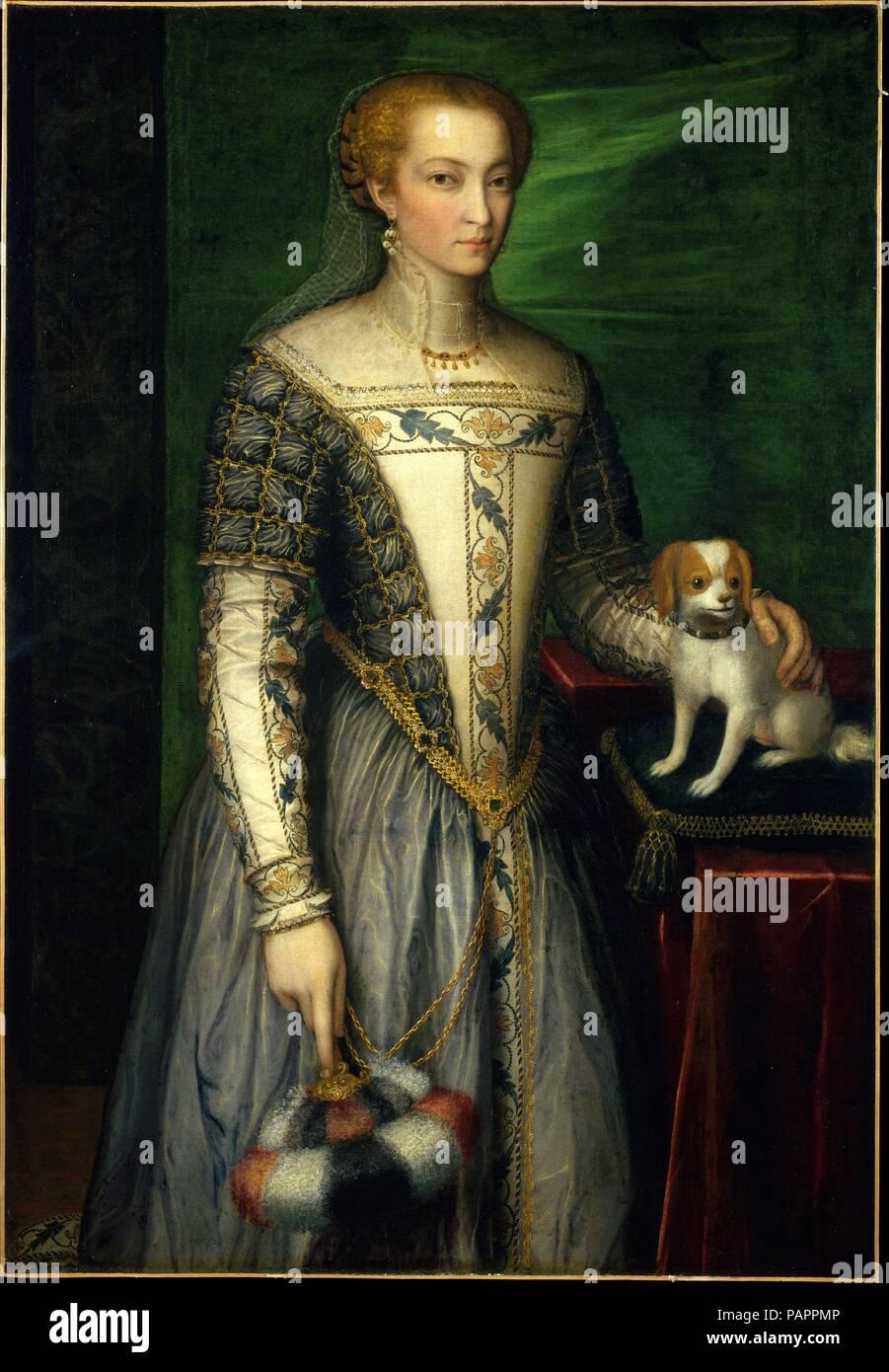 Porträt einer Frau. Artist: Bernardino Campi (Italienisch ...