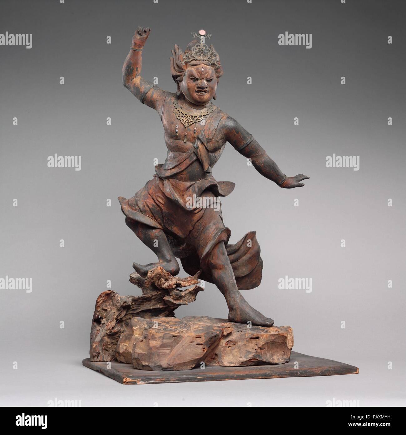 Zao Gongen. Kultur: Japan. Abmessungen: H 30. (76,2 cm); W. 24. (61 ...