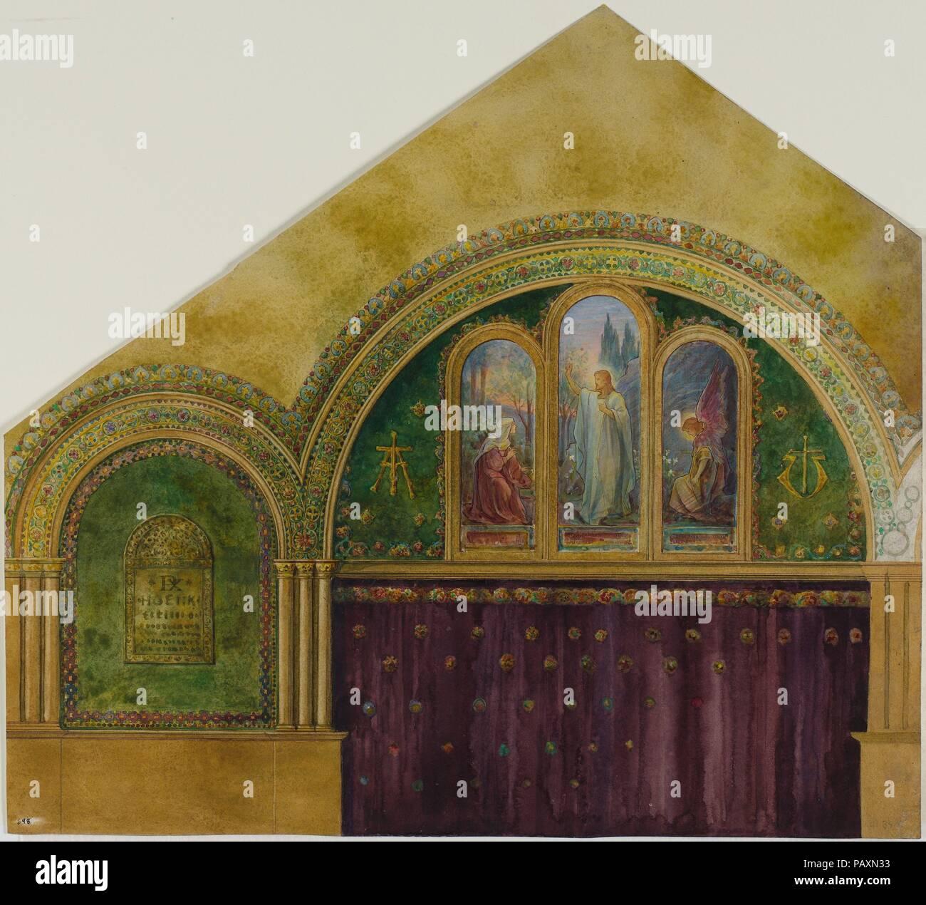 Design Für Den Innenraum Der Kirche Mit Noli Me Tangere Fenster