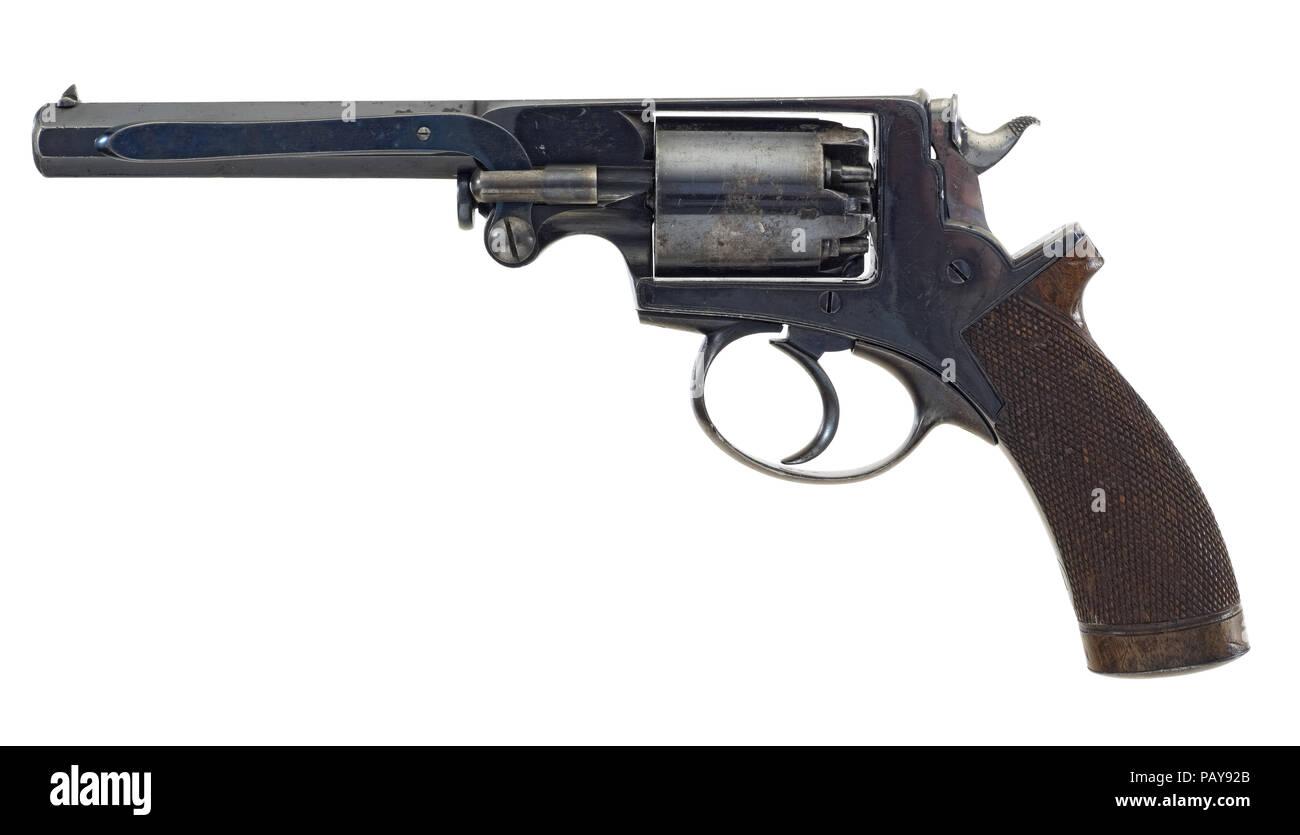 Beaumont Adams Revolver Stockbild