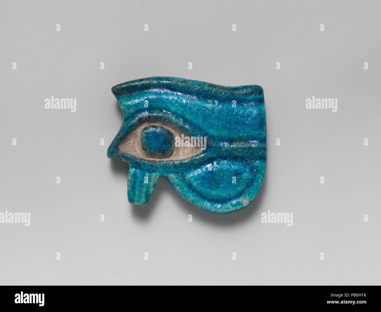Fayence Wedjat Auge Amulett Kultur ägyptisch Abmessungen H