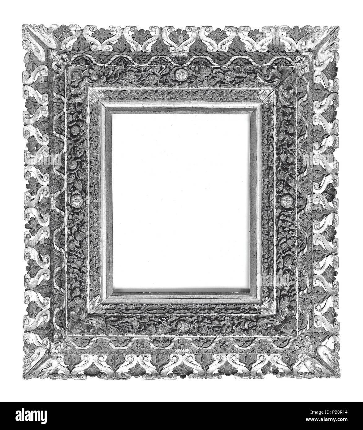 Kranz Rahmen. Kultur: Italienisch, Siena. Abmessungen: 107,5 x 94,5 ...