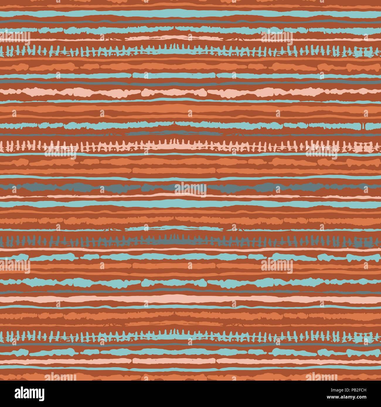 warme farben malerei, die nahtlose vektor shibori tie-dye muster von warmen farben. hand, Innenarchitektur