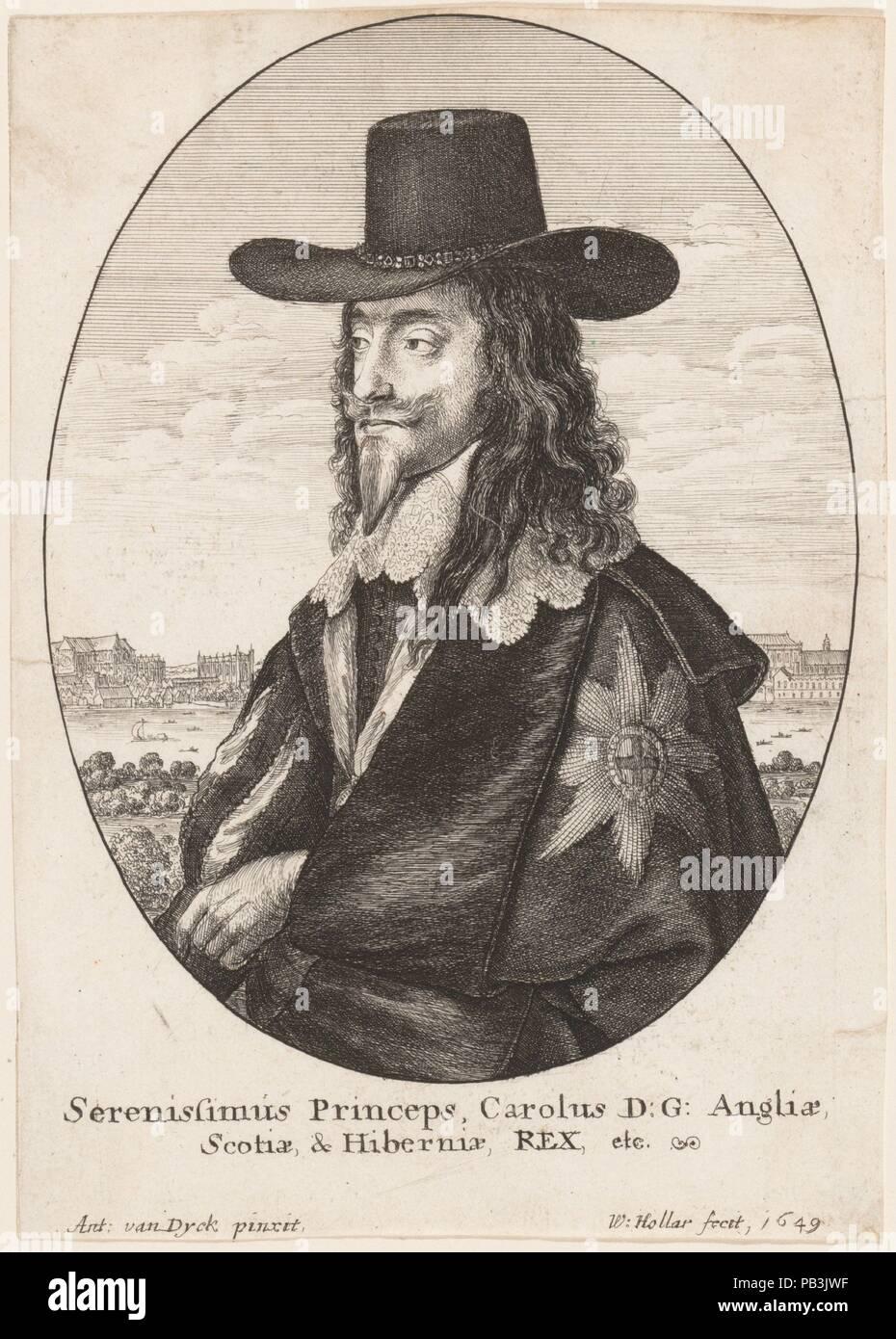 Charles I Künstler Nach Anthony Van Dyck Flandern Antwerpen 1599