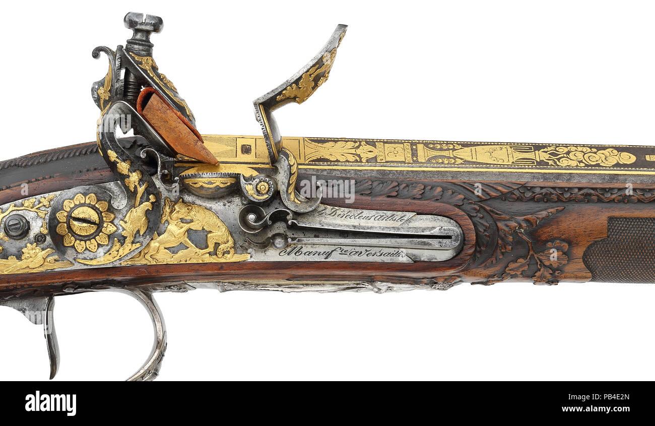 Flintlock gun von Nicholas Noel Boutet Stockbild