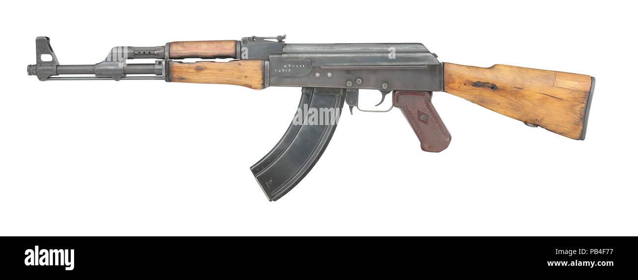 Kalaschnikow AK-47 1. Modell Stockbild