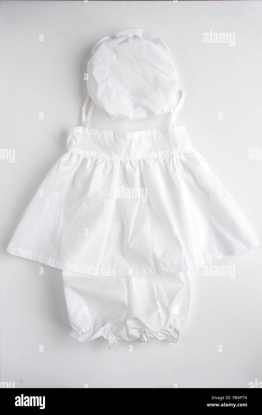 Babykleidung Für Die Taufe Stockfoto Bild 213390888 Alamy