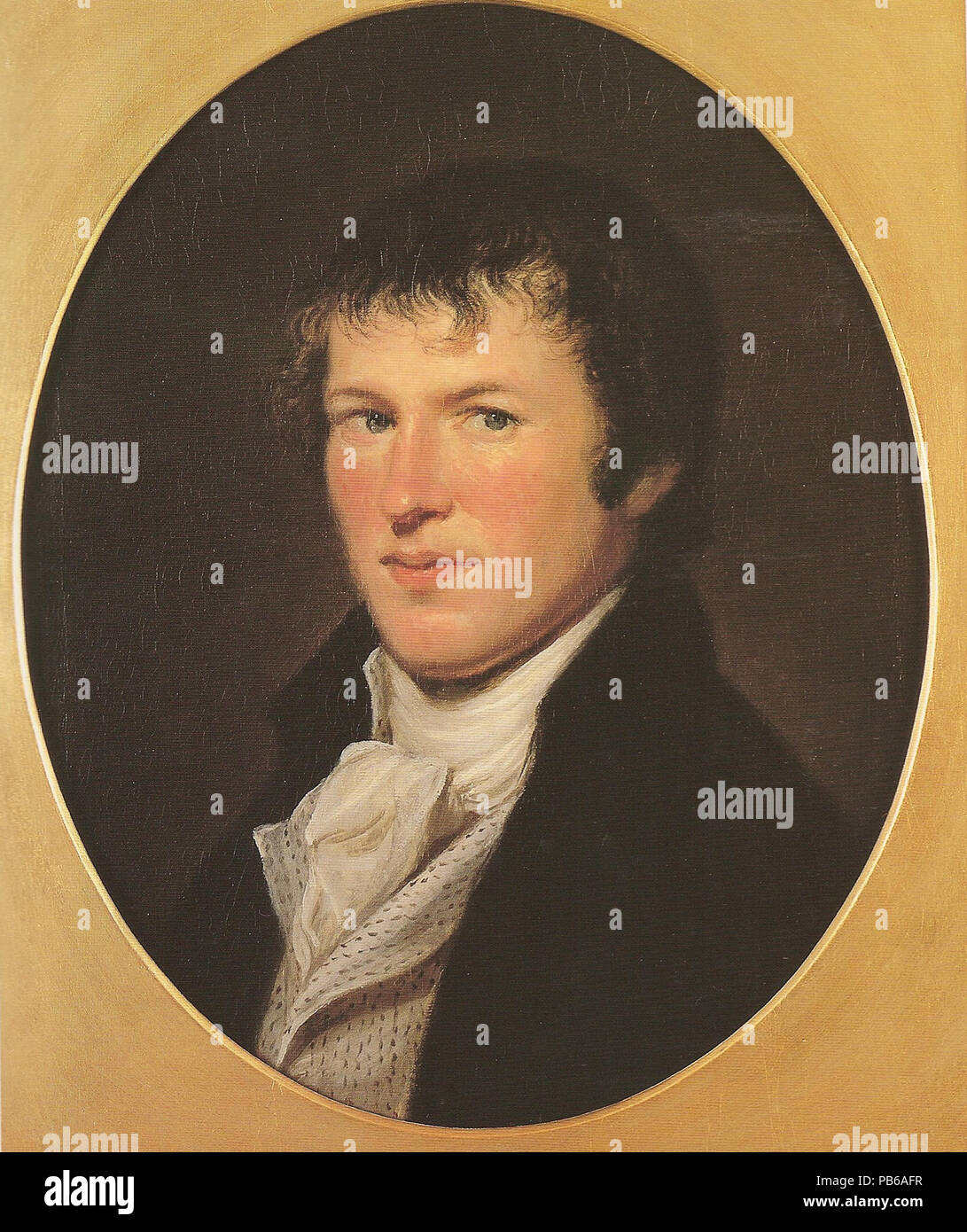Alexander von Humboldt Stockbild