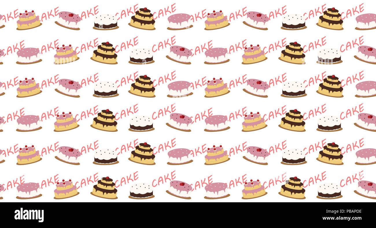 kuchen muster hintergrund - Kuchen Muster