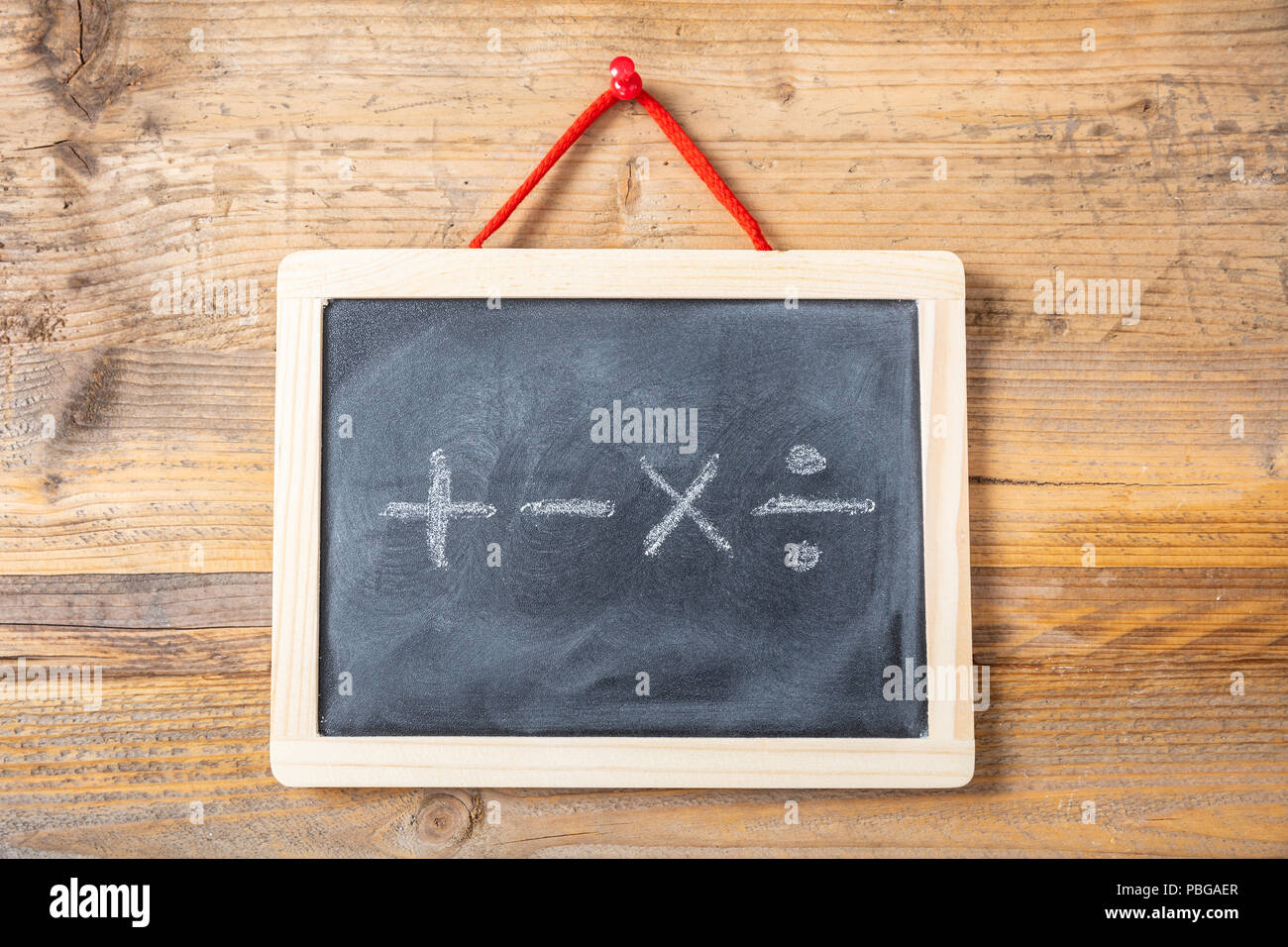 Math Symbols Stockfotos & Math Symbols Bilder - Alamy