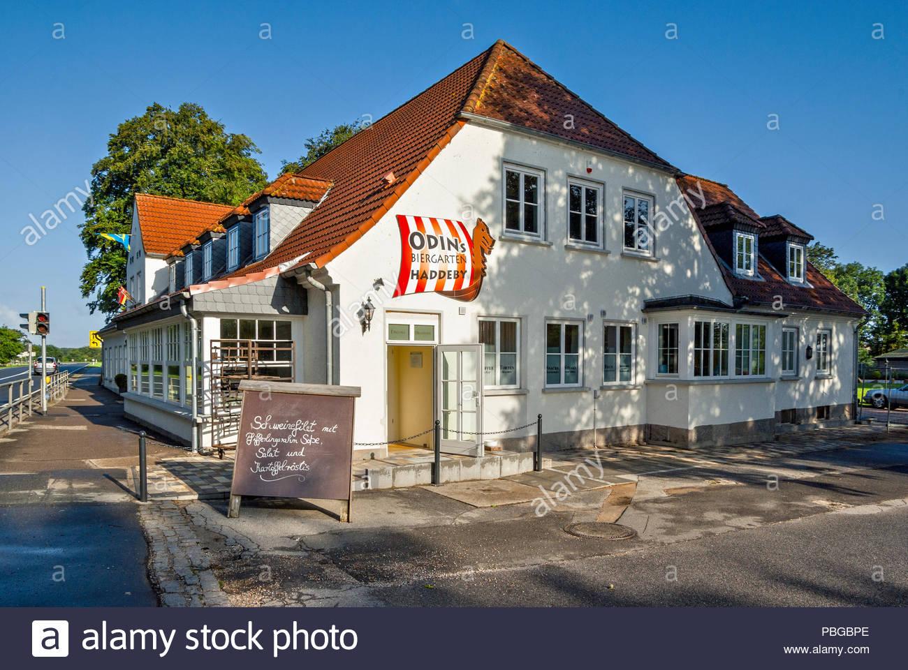 ODINs Historisches Gasthaus Haddeby serviert eine ausgezeichnete ...