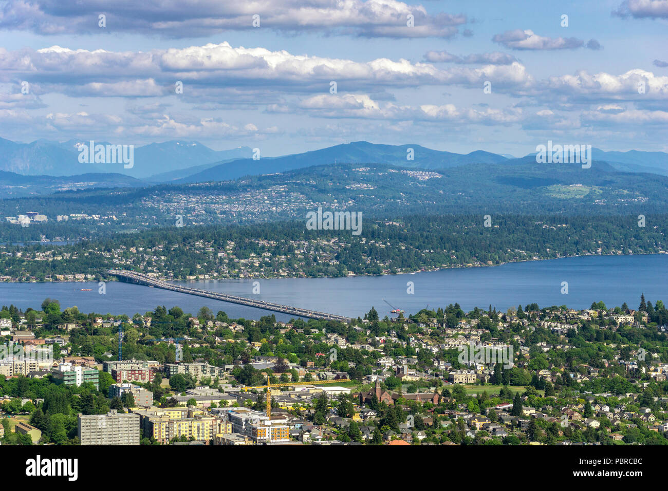 Bellevue Seattle Lake Washington Stockfotos & Bellevue Seattle Lake ...