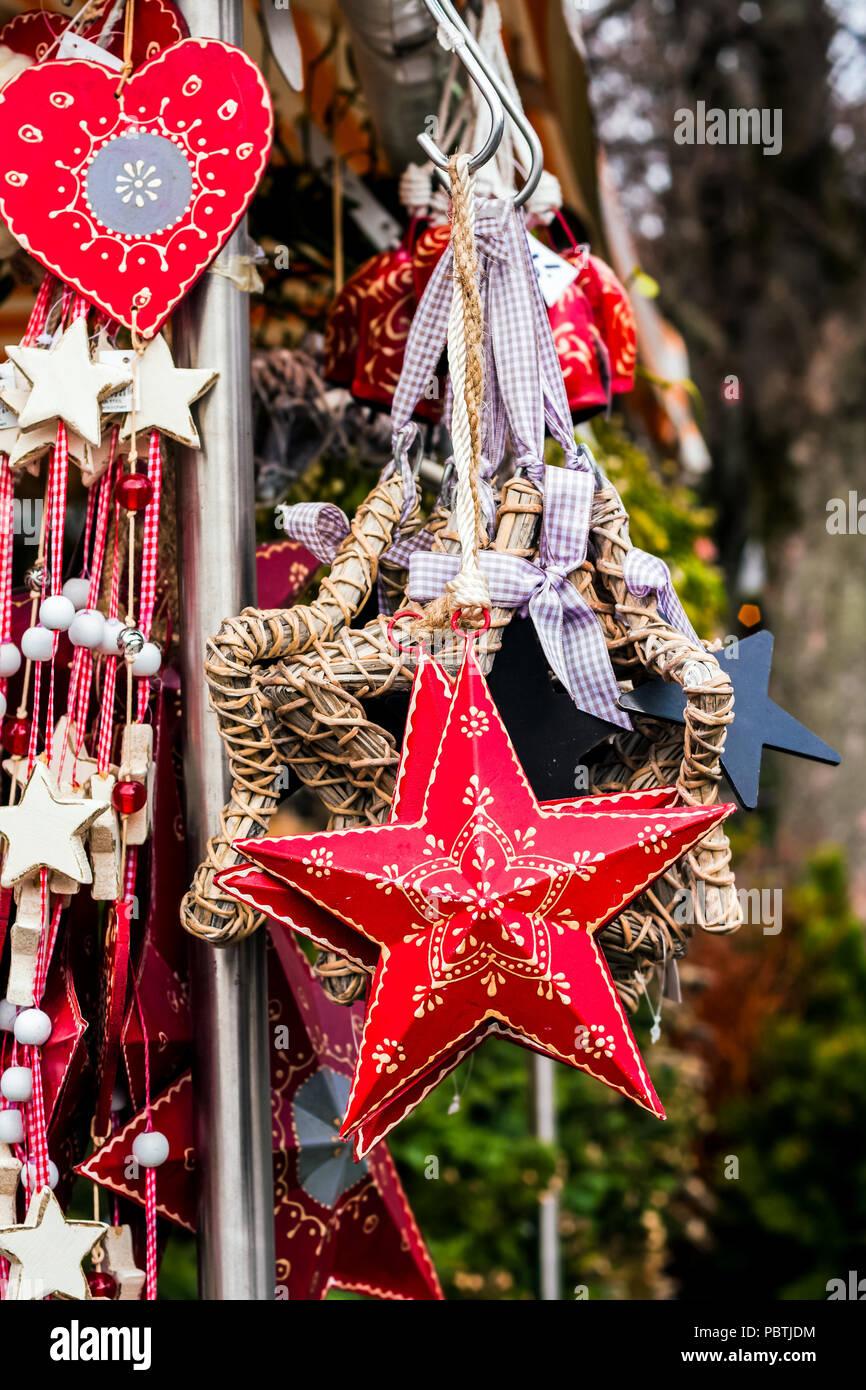 Dekoration Deutschland.Weihnachten Dekoration Auf Dem Weihnachtsmarkt München