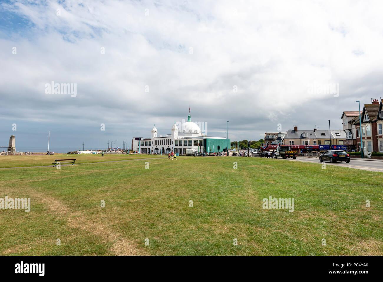 Spanische Stadt, Whitley Bay, North East England Stockbild