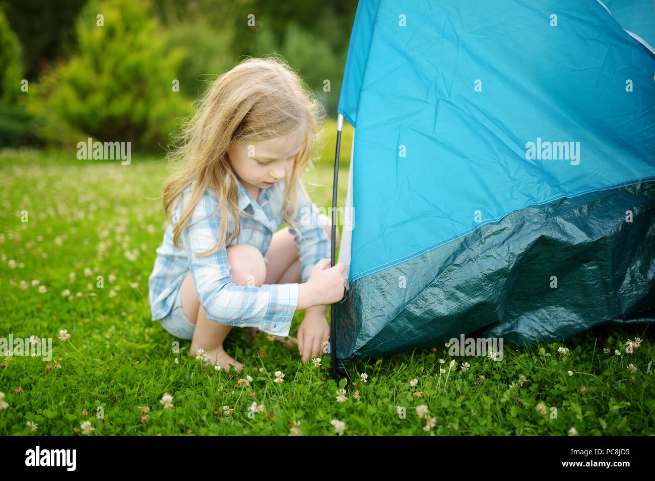 Campingplatz mädchen Amateur Und