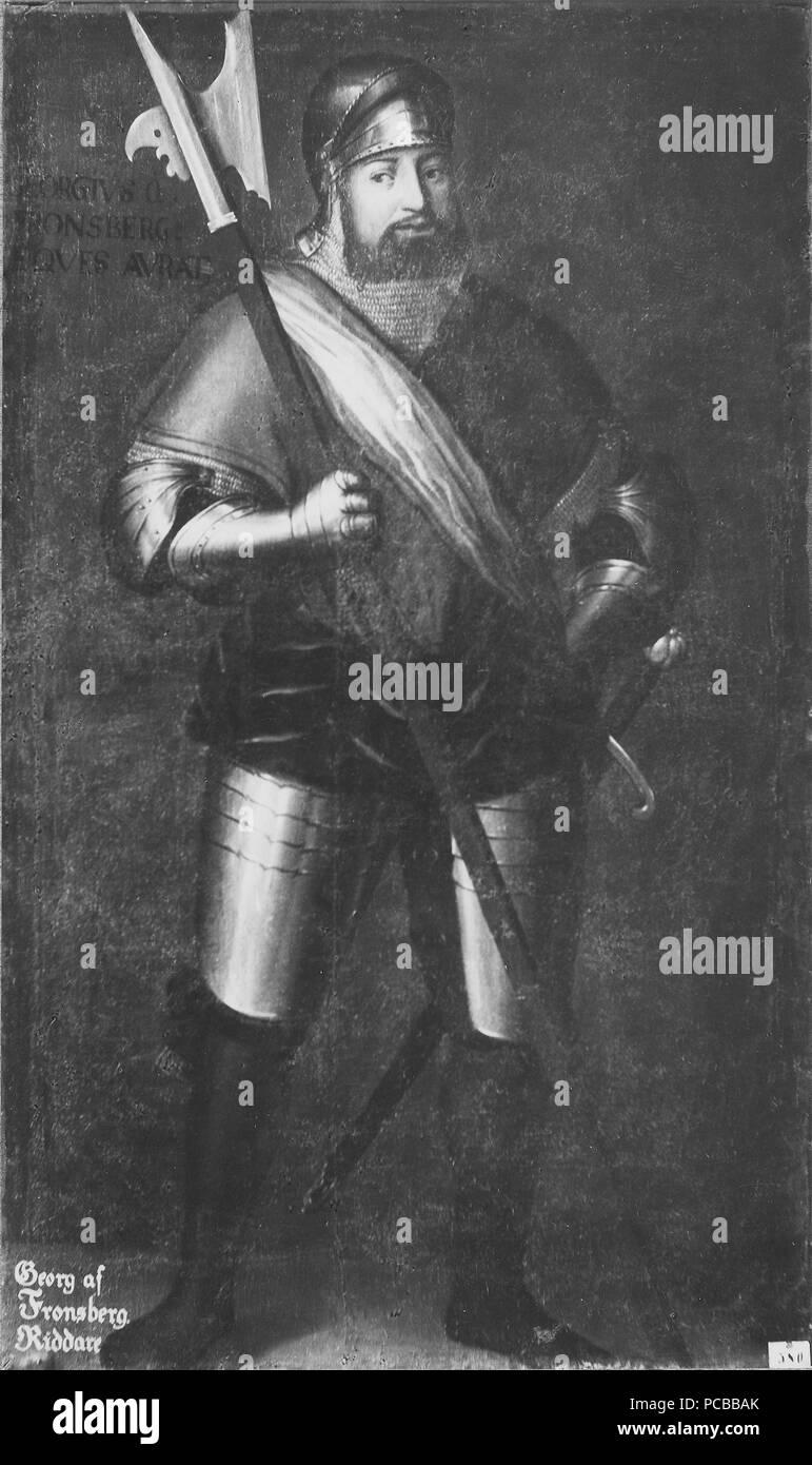 38 Georg von Frundsberg, 1475-1528 (David Frumerie) - Nationalmuseum - 15250 Stockfoto