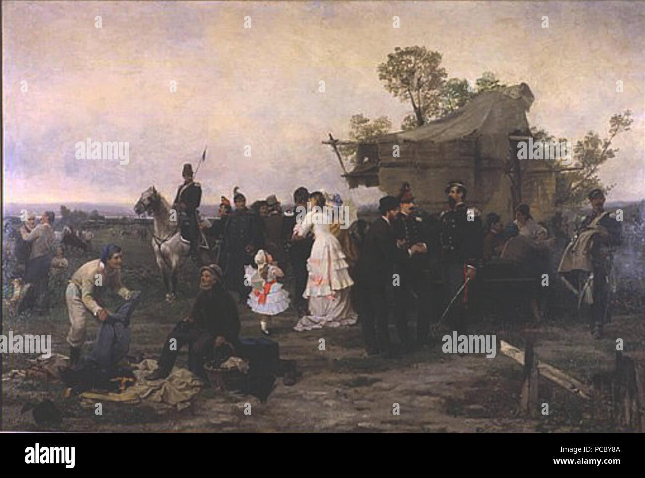 53 Sebastiano de Albertis accampamento alle Porte di Milano 1859 ...