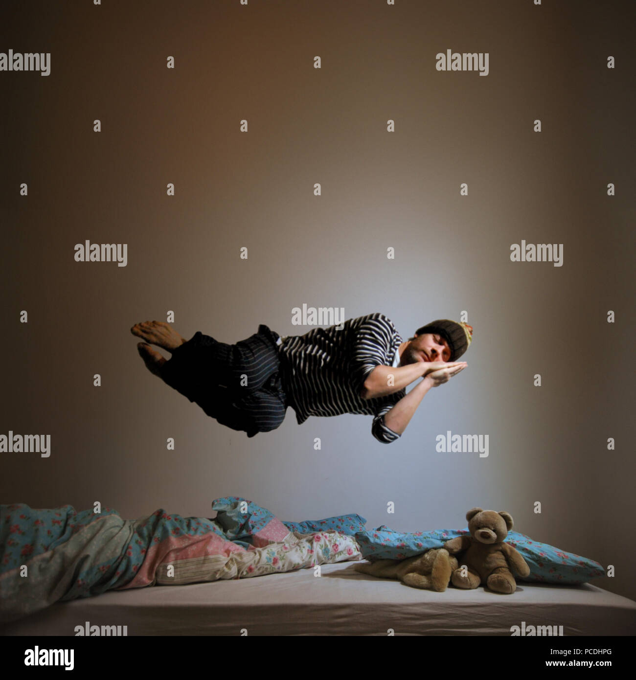 Träumen, schlafen, träumen Stockbild