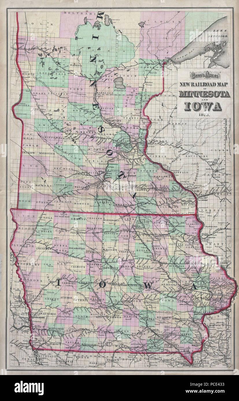 Map Of Minnesota Stockfotos & Map Of Minnesota Bilder - Seite 2 - Alamy