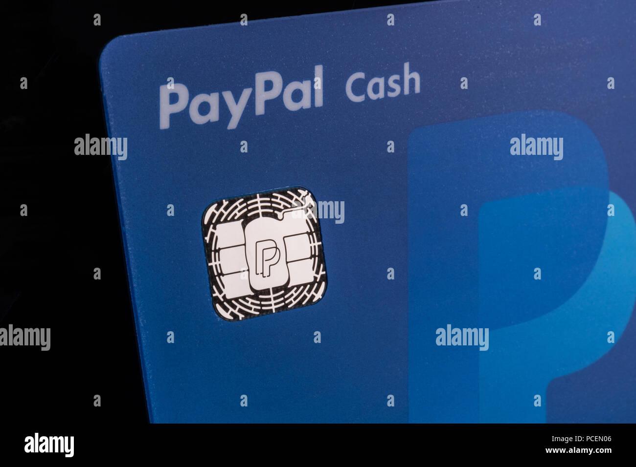 Paypal Karte.Indianapolis Ca Juli 2018 Paypal Ec Cash Karte Paypal