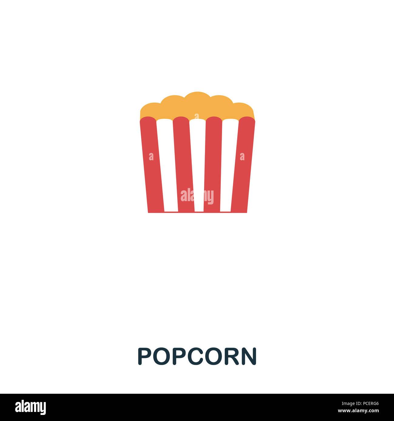 Cartoon Popcorn Stockfotos & Cartoon Popcorn Bilder - Alamy