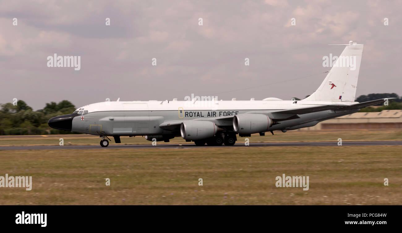 Boeing RC-135 W Nietverbindung, Royal Air Force Stockbild