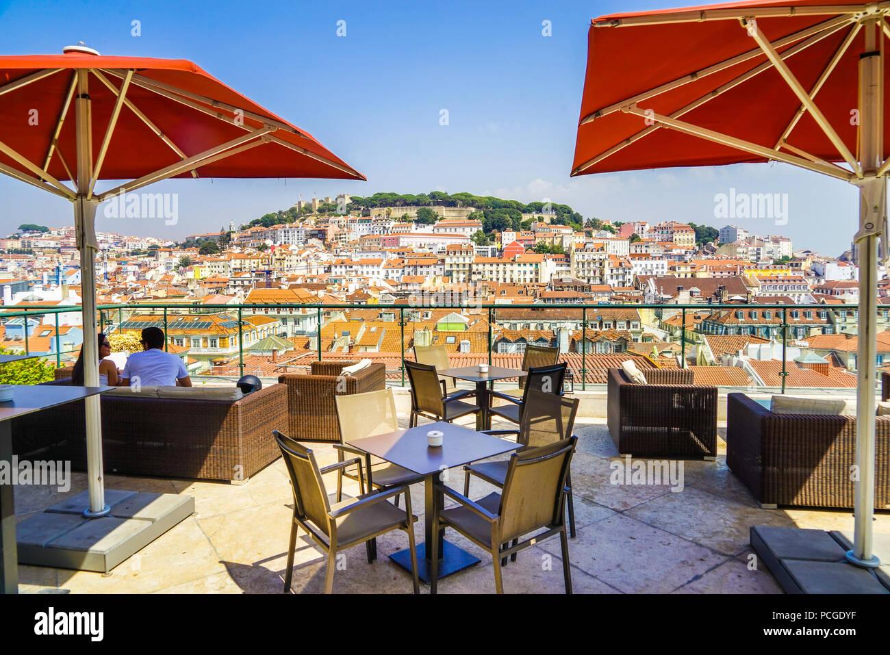 Lissabon. Stockbild