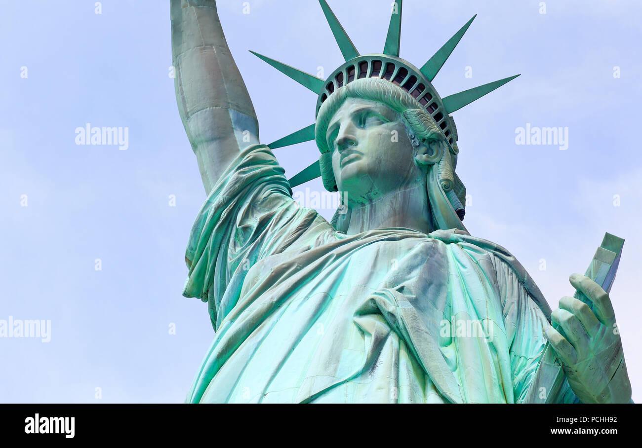 Book Statue Liberty Liberty Island Stockfotos Und Bilder Kaufen Alamy