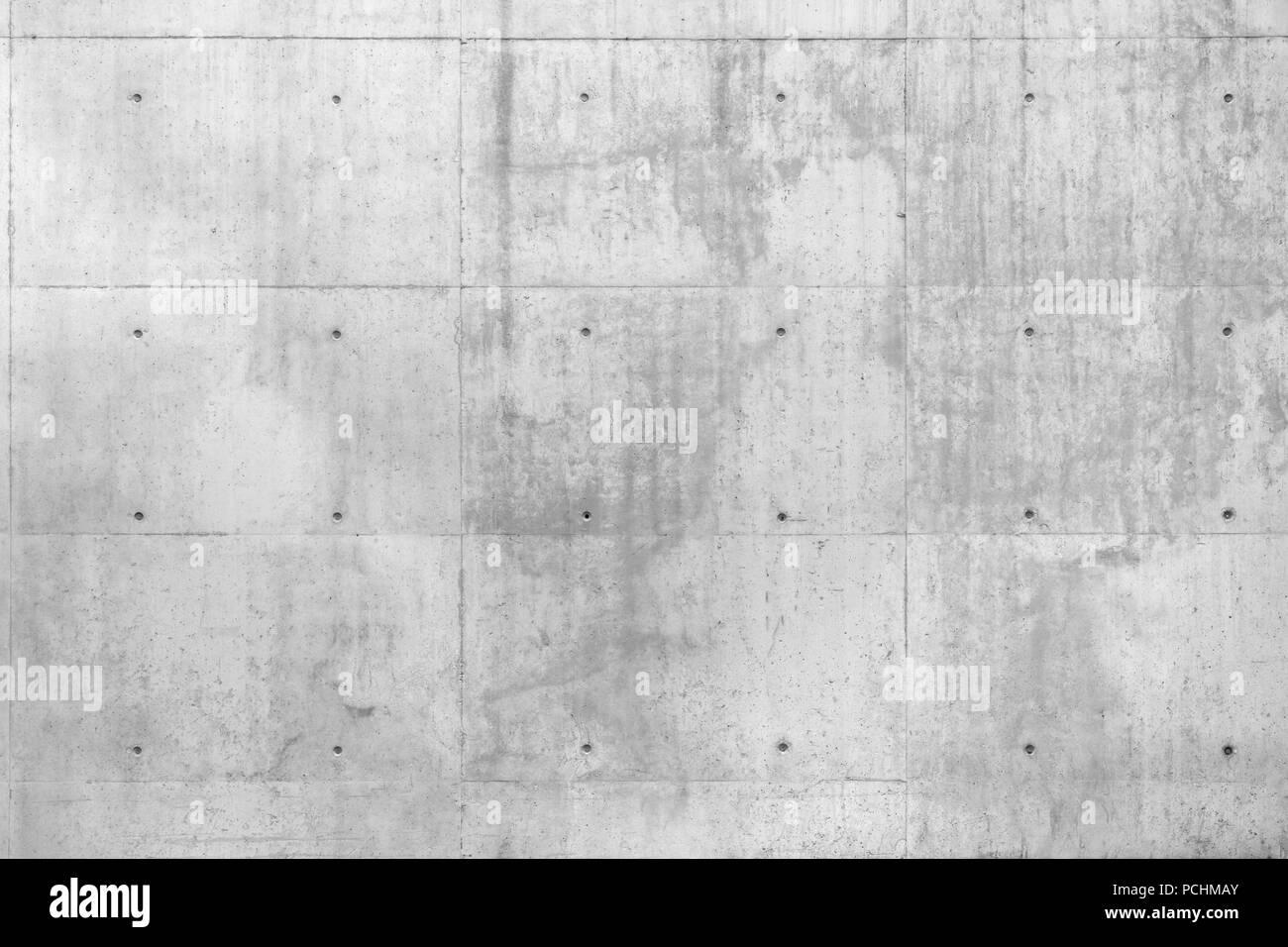Raw grauer Beton beton Wand als Vollbild im Hintergrund. Stockbild