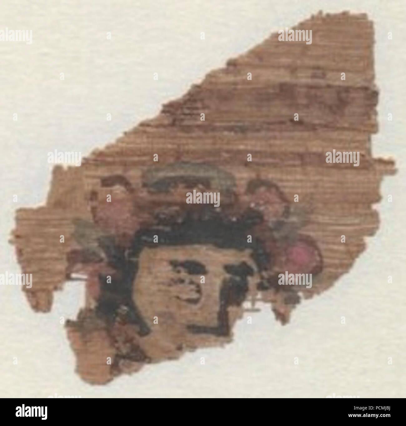 Alexandrinische Welt Chronik Wien Fragment Stockfoto Bild