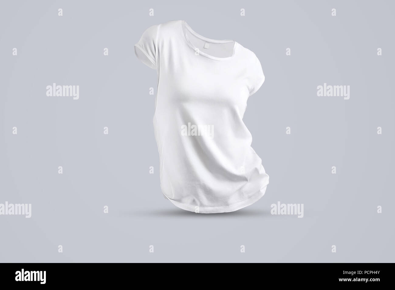 Blank Women T Shirt Template Isolated Stockfotos und -bilder For Blank T Shirt Order Form Template