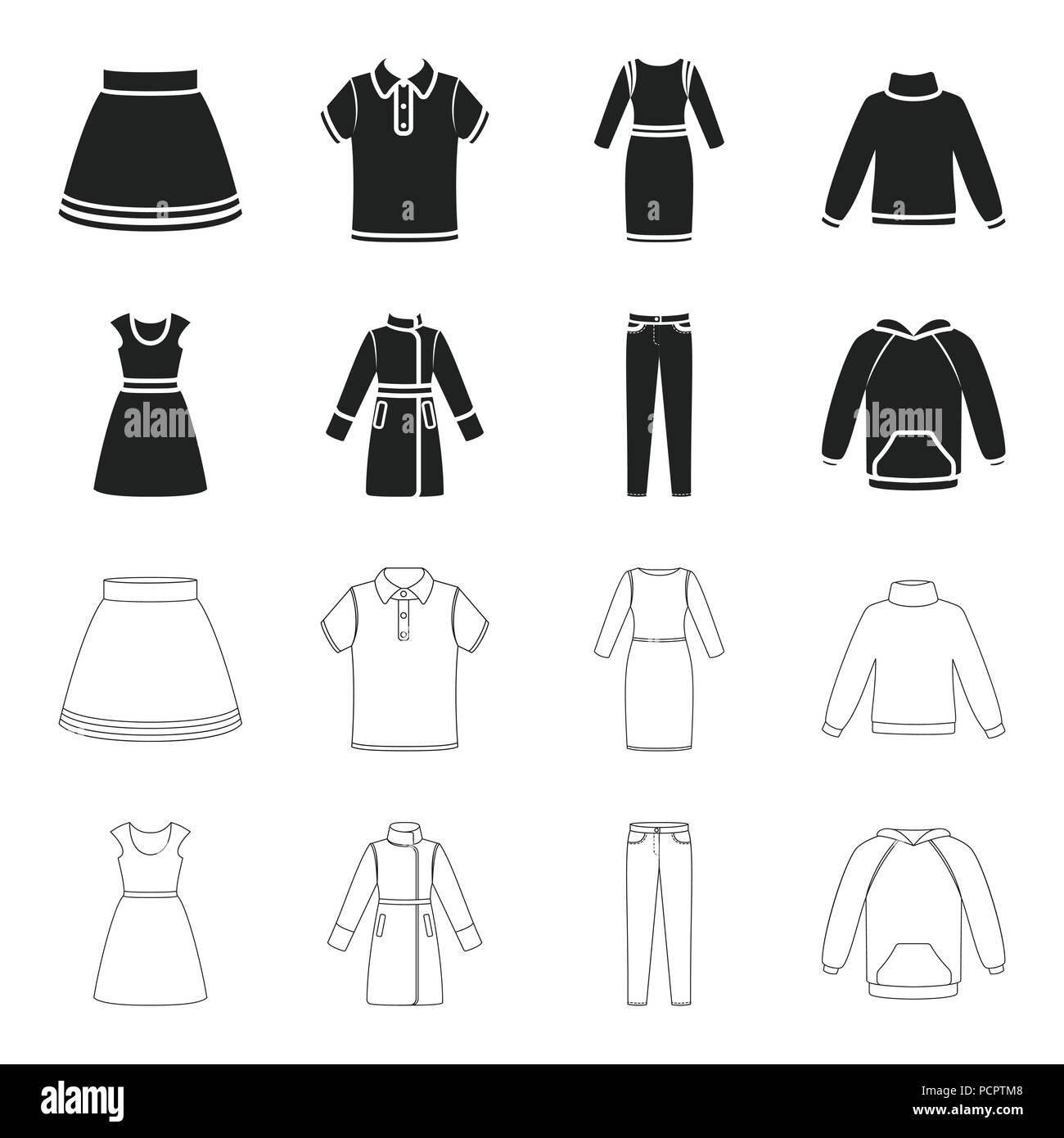 kleid mit kurzen Ärmeln, hosen, mäntel, raglan. kleidung set