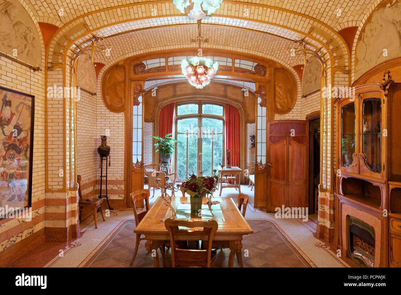 Maison Atelier Victor Horta, 23-25 Rue Americaine, Brüssel ...