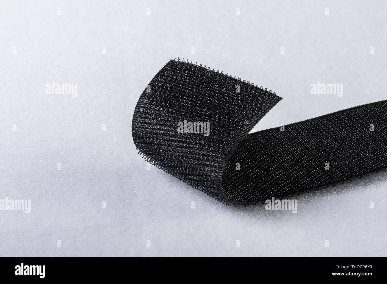 Velcro Klettverschluss Detail Stockbild