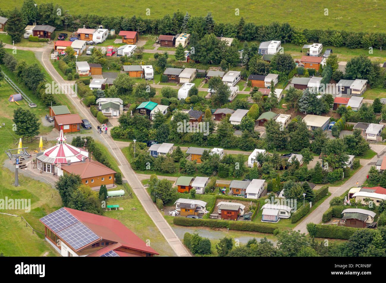 Luftaufnahme Caravan Park Campingpark Hochsauerland Campingplatz